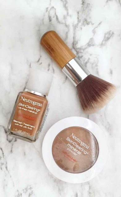 Neutrogena SkinClearing Oil-free Foundation and Mineral Powder Review