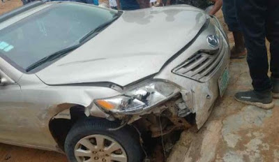 SARS Opens Fire On A Suspected Car Thief, Cause Accidents (Photos)