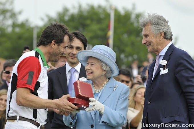 Cartier Celebrates Queen's Jubilee With The Queen's Cup