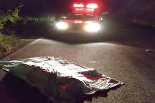 Homem morre após acidente