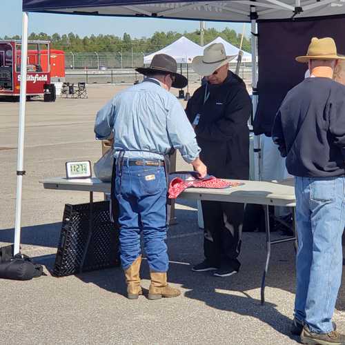 Turn ins during round 2 of the 2019 Smokin' with Smithfield National Barbecue Championship