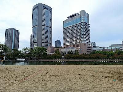 大阪ふれあいの水辺(桜ノ宮ビーチ)
