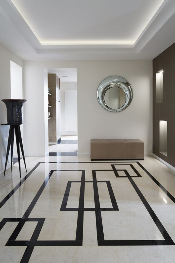 modern floor tile designs for living room