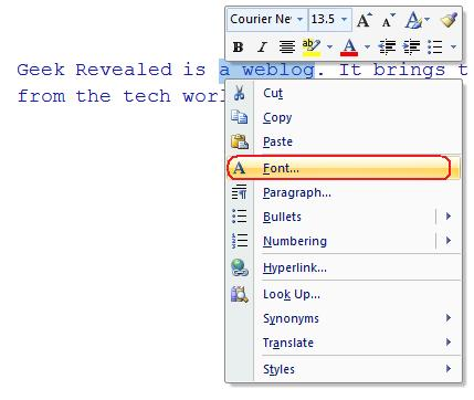 how to hide text in word documents