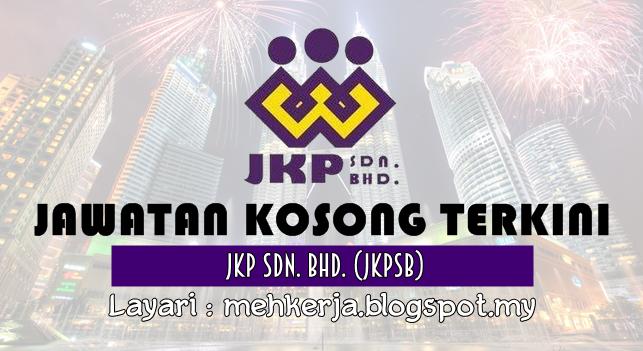 Jawatan Kosong Terkini 2016 di JKP Sdn Bhd