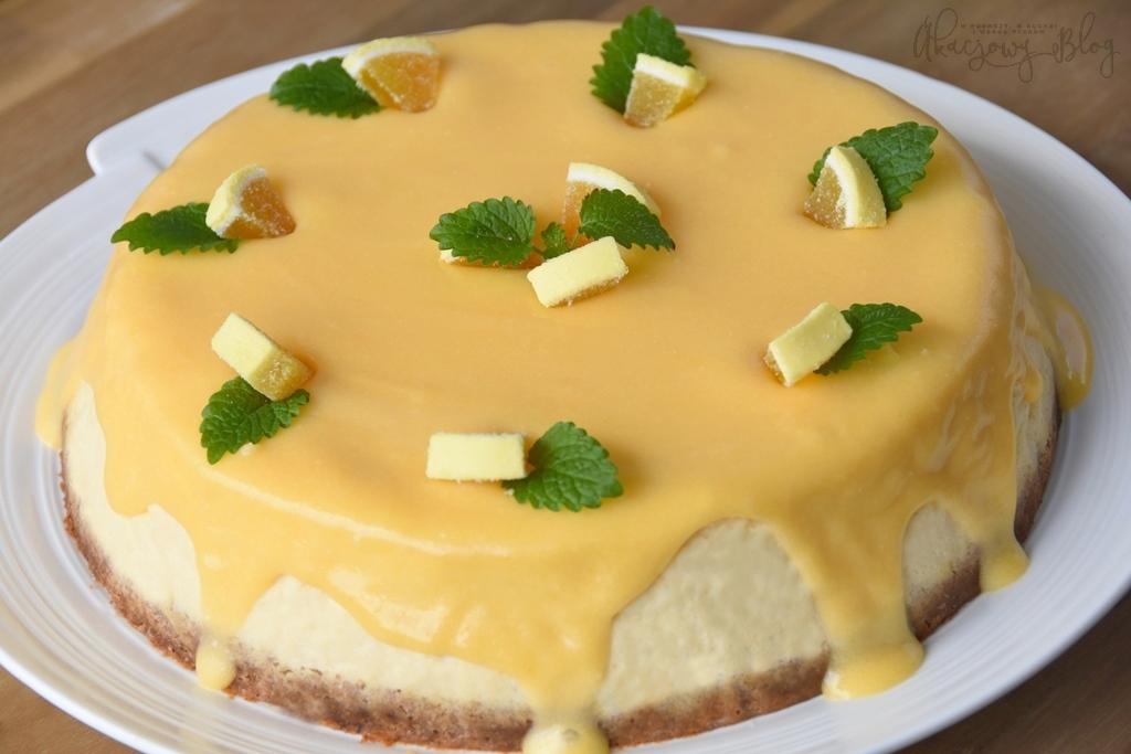 Sernik cytrynowy - najlepszy z najlepszych.