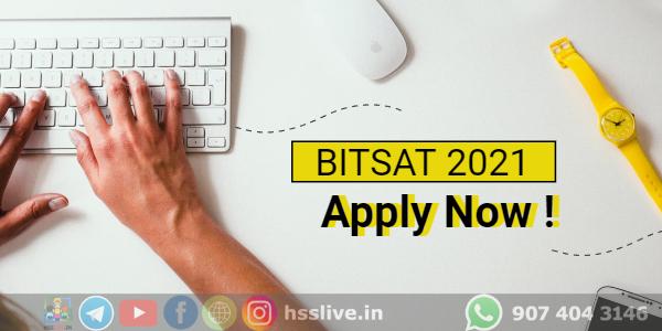 BITSAT 2021 Admission