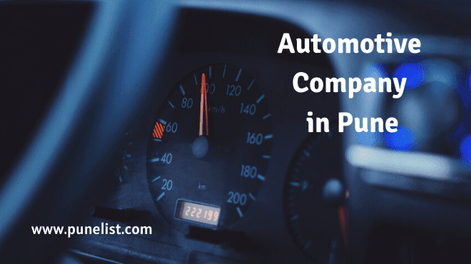 Automotive Companies in Pune