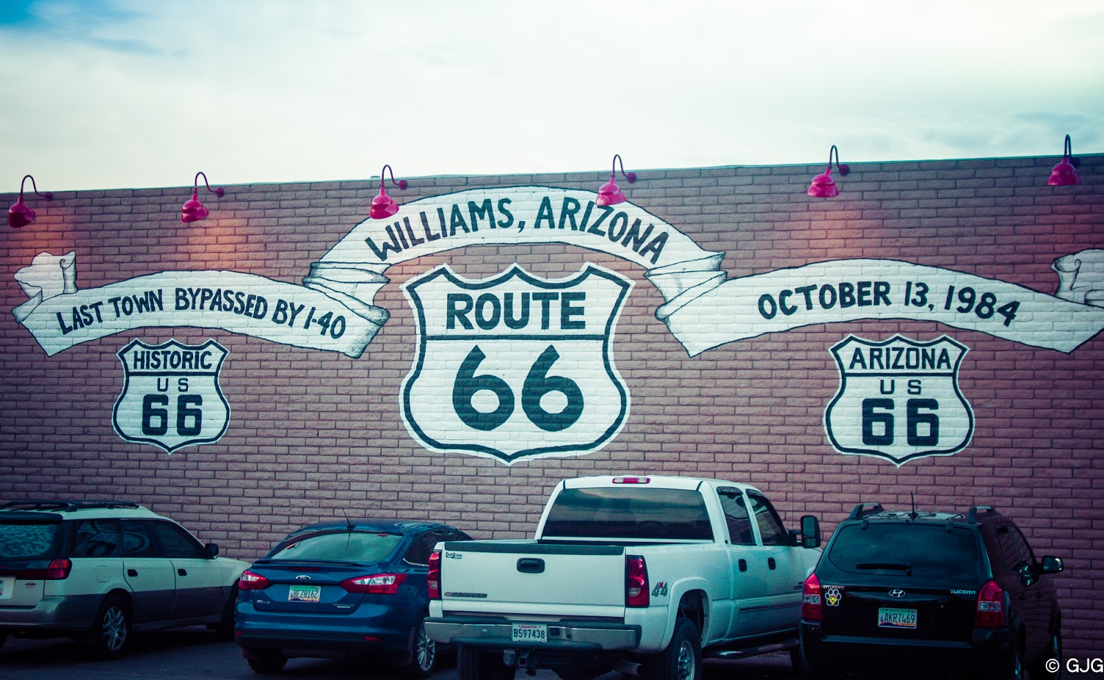 Historic US Route 66 Williams, Arizona