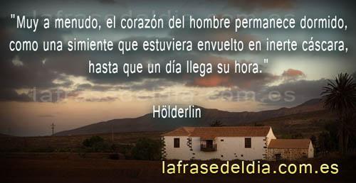 Pensamiento positivo, citas de Hölderlin