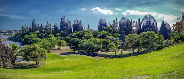 Renzo Piano-architettura-centro culturale-Nuova Caledonia