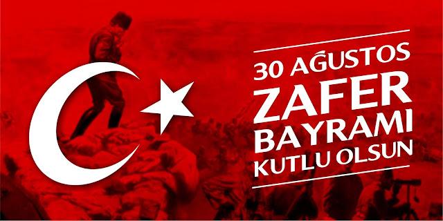 30 Ağustos Zafer Bayramı tasarım afis