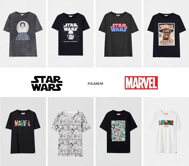 camisetas-marvel-star-wars-pull-and-bear