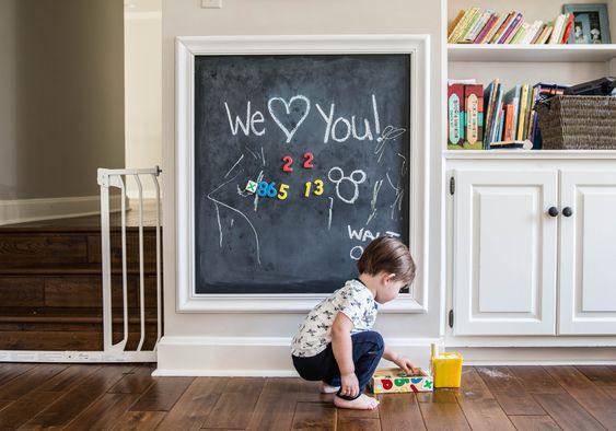 Farba tablicowa - kilka sposobów na wykorzystanie w świecie dziecka