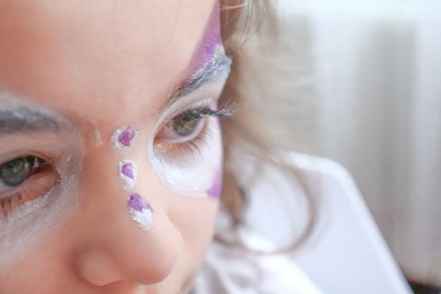 tuto maquillage papillon enfant