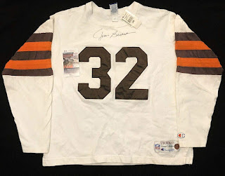 Cleveland Browns Jim Brown Champion Throwbacks jersey