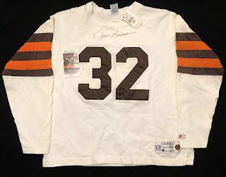 Cleveland Browns Jim Brown Champion Throwbacks jersey
