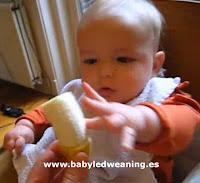 Videos de bebés y baby-led weaning - BLW: Olivier