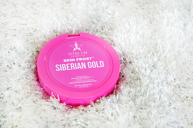 Jeffree Star, Skin Frost Highlighter, Siberian Gold, Glow getters, Sunkissed skin, Highlighting, Beauty, Highlighter, golden highlighter, shop makeup online, Makeup artist, Beauty, beauty blog, makeup, makeup blog, top beauty blog of Pakistan