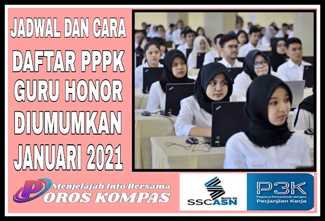 Jadwal dan Cаrа Daftar PPPK Guru Hоnоrеr Diumumkan Jаnuаrі 2021