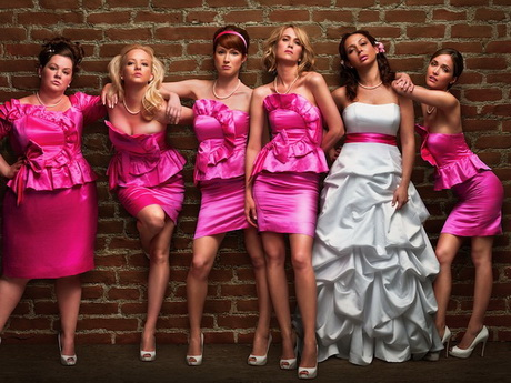 Vestidos de madrina rosado