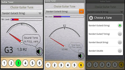 Free Guitar Tuner Android & iOS