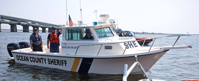 Launch 5 and CG 25708, Ocean County Sheriff Boat