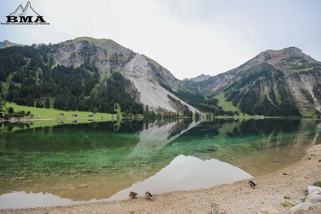 Rundweg um den vilsalpsee wandern - Tannheimer Tal - Austria - Tirol - Naturschutzgebiet - Wandern mit BMA - Best Mountain Artists