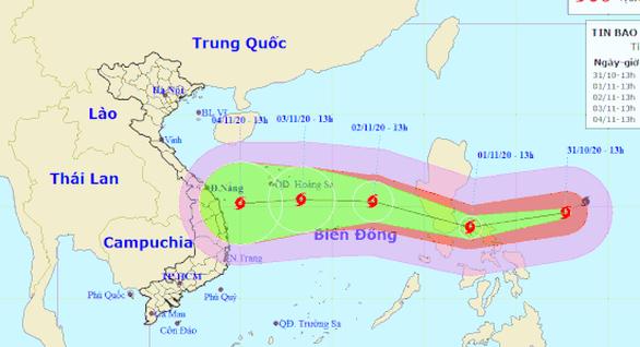 Miền Trung Việt Nam phải sẵn sàng ứng phó siêu bão Goni