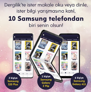 Turkcell Dergilik Telefon Çekilişi