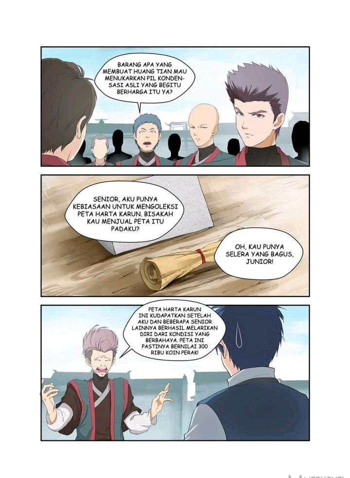 Heaven Defying Sword Bahasa Indonesia Chapter 65