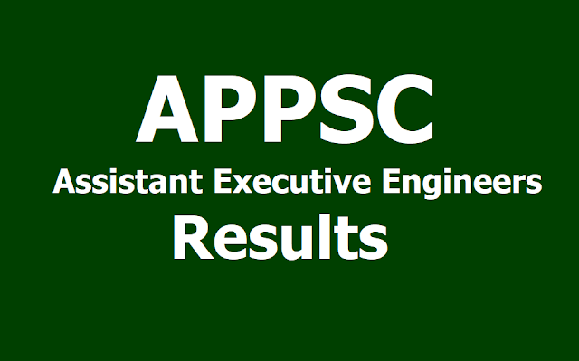 APPSC AEE Assistant Executive Engineers Results 2019 of Screening Test