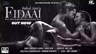 Checkout Rahul Jain ft Elli AvrRam New Song Fidaai lyrics penned by Amit Lakhani