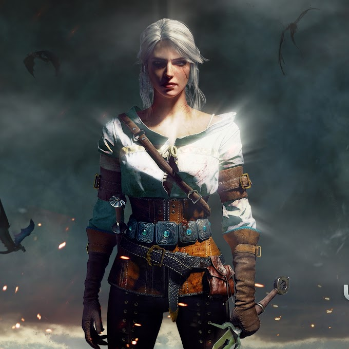 Animated Wallpaper The Witcher Ciri