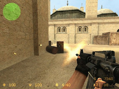 Contoh First Person Shooter (FPS)
