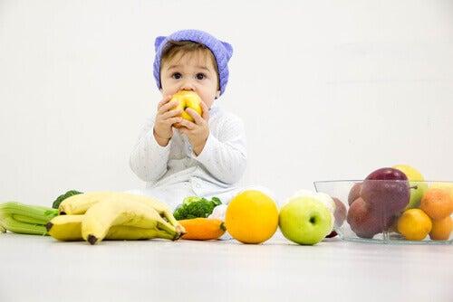 Các loại rau và trái cây tốt nhất cho trẻ sơ sinh