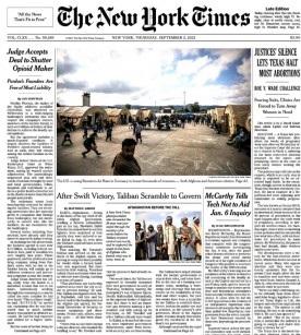 The New York Times Magazine 2 September 2021