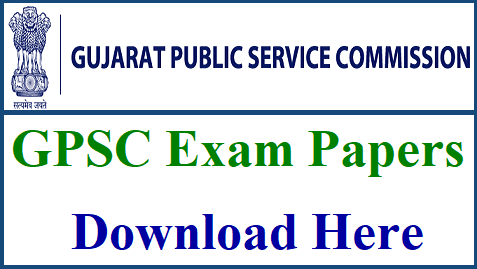 GPSC CLASS 1-2 EXAM PAPER