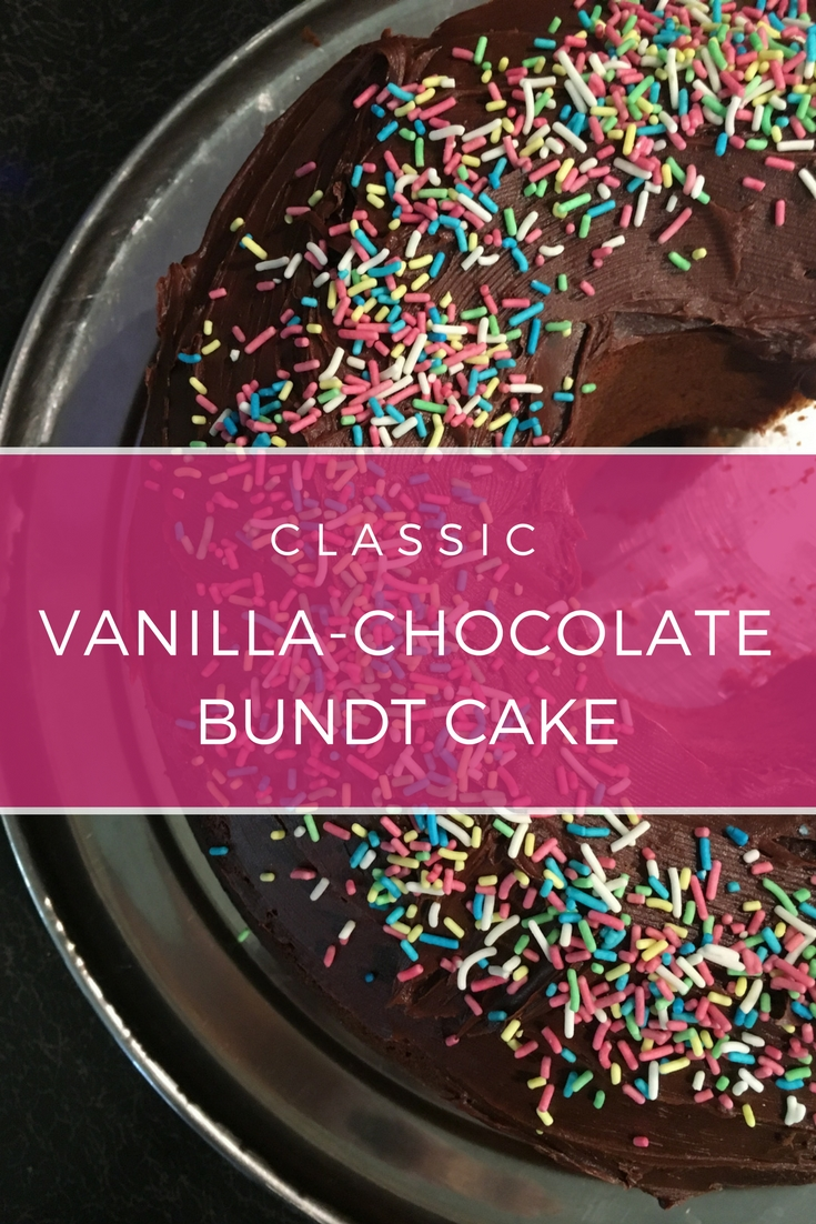 Vanilla-Chocolate Marbled Bundt Cake recipe: A basic cake recipe | Ioanna's Notebook