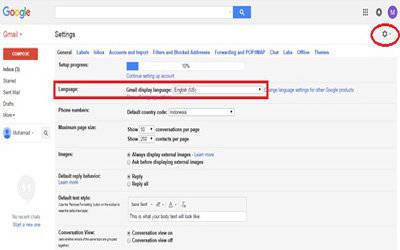 Cara mudah mengaktifkan fitur google terjemahan pada gmail stopboris Images