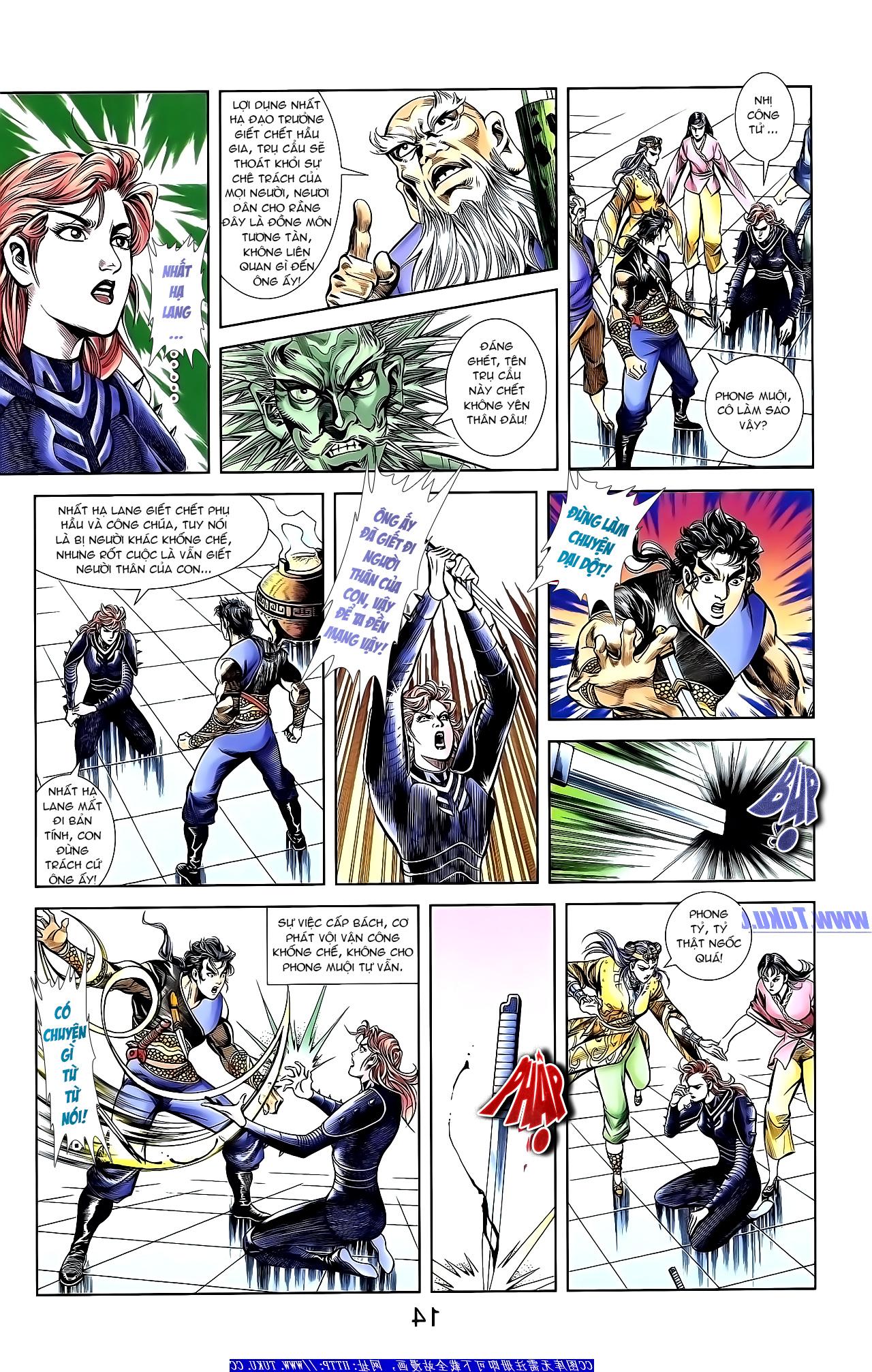 Cơ Phát Khai Chu Bản chapter 152 trang 25