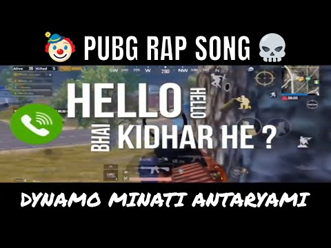 PUBG Mobile Official Rap Song | Roasted Dynamo Minati & Antaryami | by Verity Willy