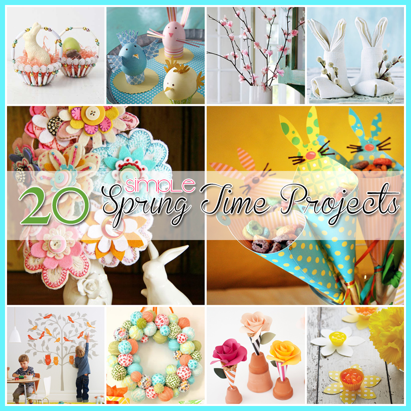 Simple Spring Homemade Projects 32