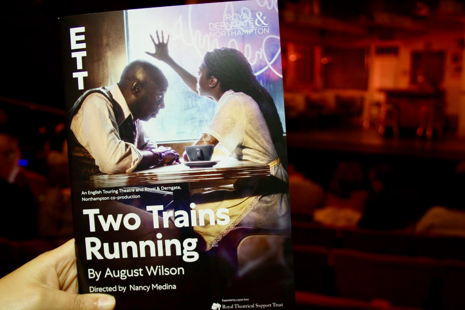Two Trains Running Royal Derngate and Northampton review play