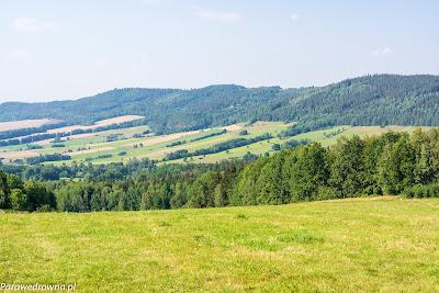 Chrośnickie Kopy obserwowane z wierzchołka Góry Szybowcowej