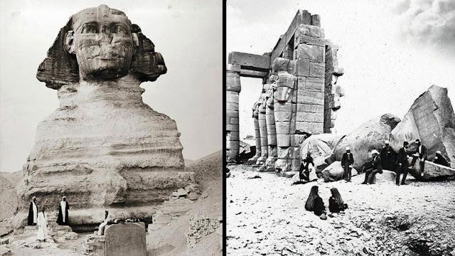 Contemple las 20 imágenes más antiguas y raras de la Tierra de los Faraones