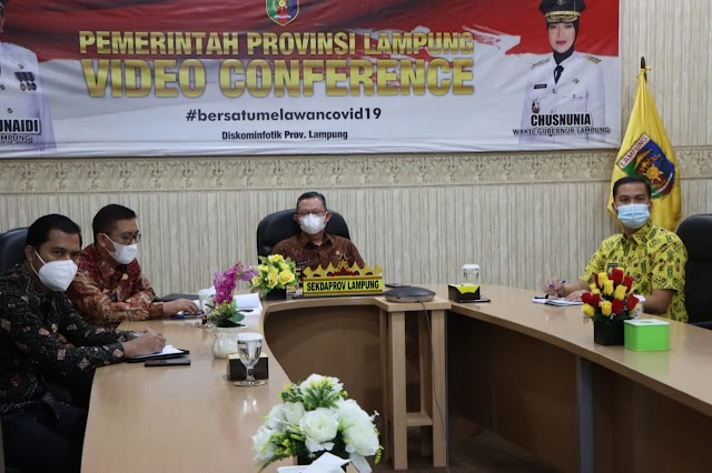 Sekdaprov Lampung Hadiri Rapat Koordinasi Forsesdasi