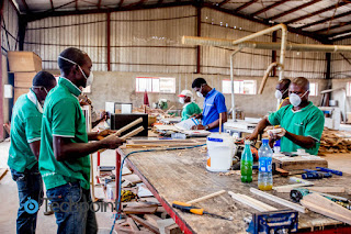 From Nigeria Skarabrand factory, where local furniture manufacturing meets eCommerce