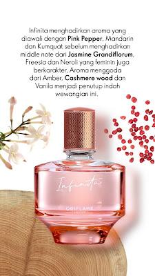 Review Parfume - Infinita Eau de Parfum menghadirkan keharuman feminin yang klasik