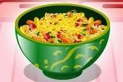 لعبة تحضير و طبخ السلطة الصحية اللذيذة
